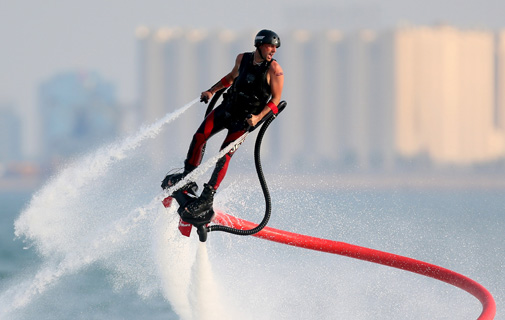 May: Trials held for new water sport