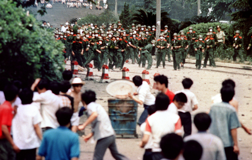 From the Vault: Bermudian's Tiananmen Square song